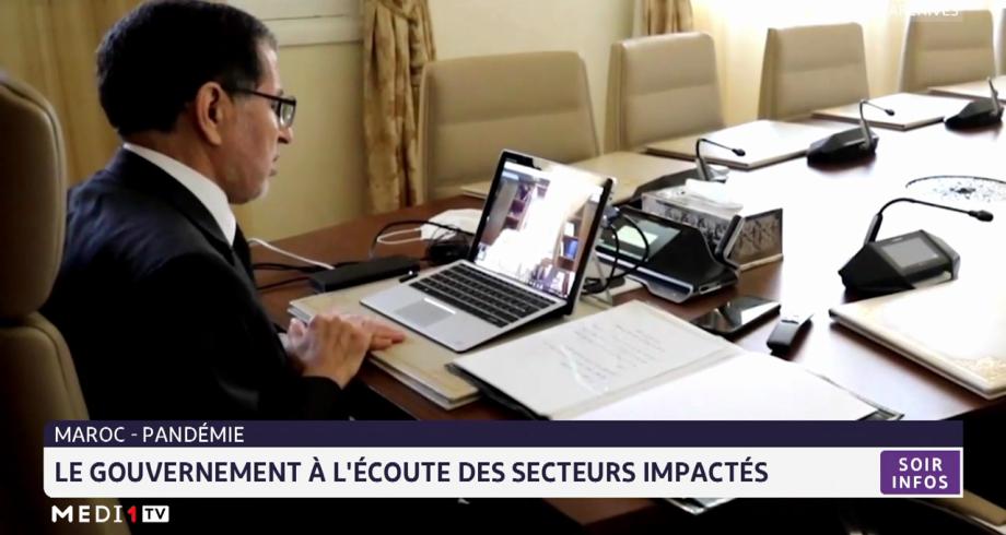 Maroc: le gouvernement à l'écoute des secteurs impactés