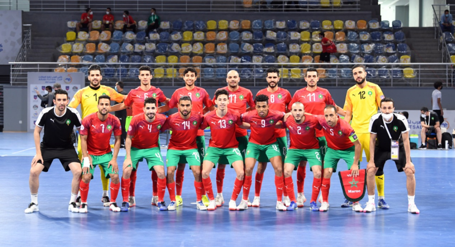 المنتخب المغربي لكرة الصالات يتأهل إلى نهائي بطولة كأس العرب