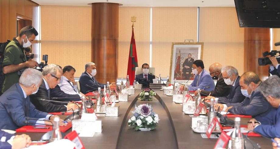 لقاء لرئيس الحكومة مع الأمناء العامين للأحزاب السياسية يبحث تطورات الأزمة السياسية بين المغرب وإسبانيا