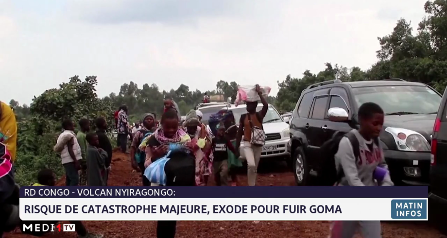 RDC: risque de catastrophe majeure, exode pour fuir Goma