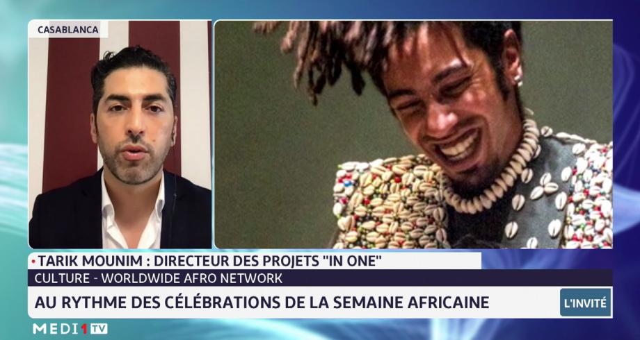 """Au rythme des célébrations de la semaine africaine avec Tarik Mounim des projets """"In one"""""""