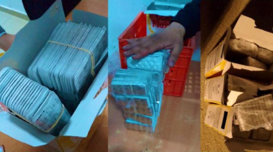 Tanger-Med: saisie de 17.715 comprimés psychotropes, une personne interpellée