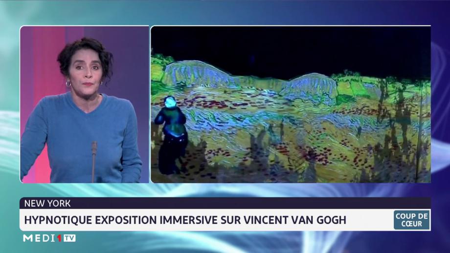 Coup de Coeur/ New York: hypnotique exposition immersive sur Vincent Van Gogh