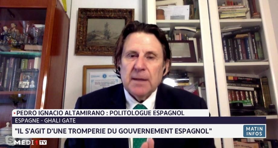 Pedro Ignacio Altamirano réagit à l'accueil du dénommé Brahim Ghali par l'Espagne