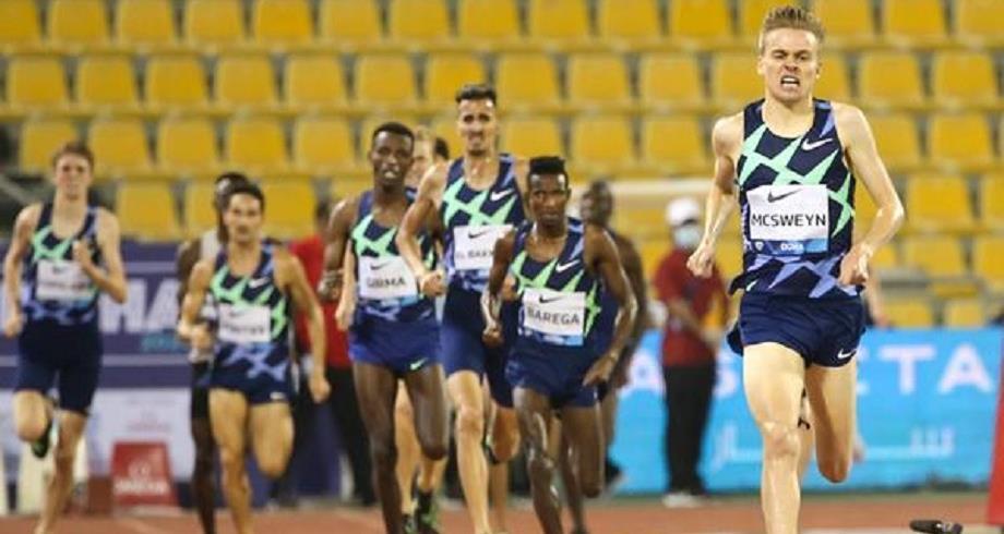 جولة الدوحة للدوري الماسي.. سفيان البقالي يحل ثالثا في سباق 1500 متر