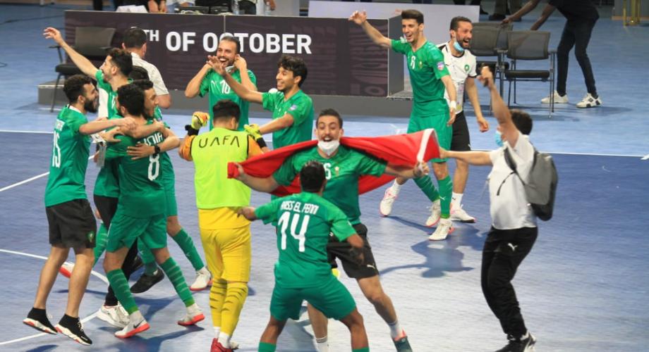 """""""أسود الصالات"""" يتوّجون بلقب كأس العرب"""