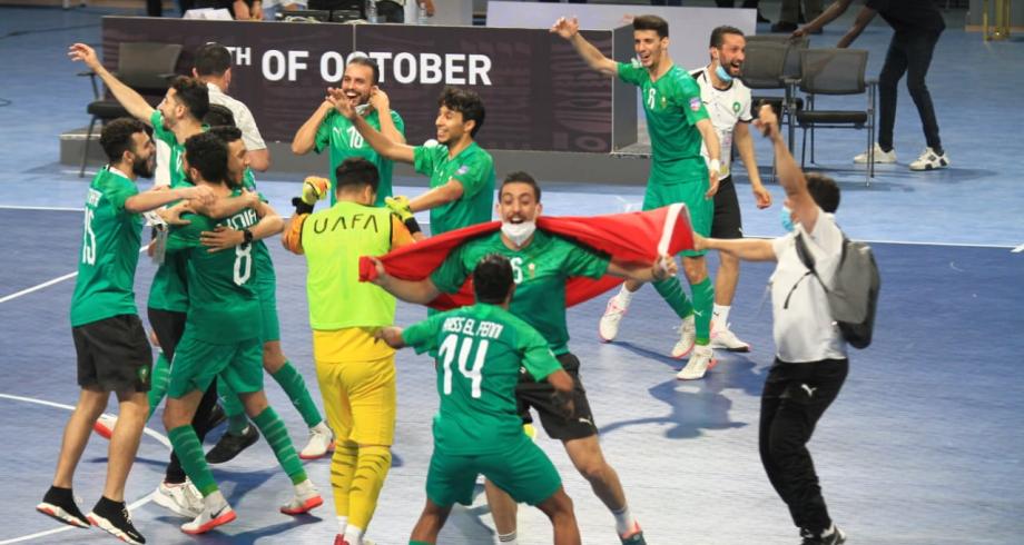 Le Maroc remporte le 5è championnat arabe de Futsal