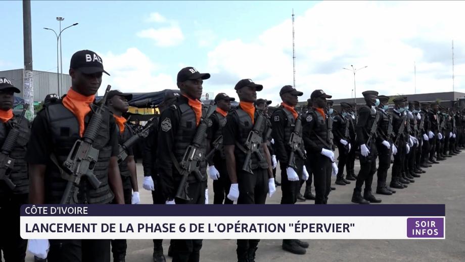 """Côte d'Ivoire: Lancement de la phase 6 de l'opération """"épervier"""""""