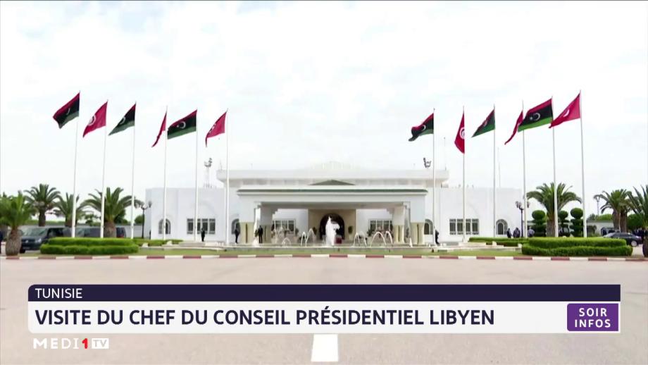 Tunisie: Visite du chef du conseil présidentiel libyen