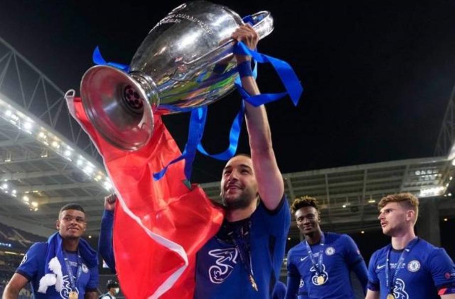 Ligue des Champions: Hakim Ziyech deuxième joueur marocain à remporter le titre après Achraf Hakimi
