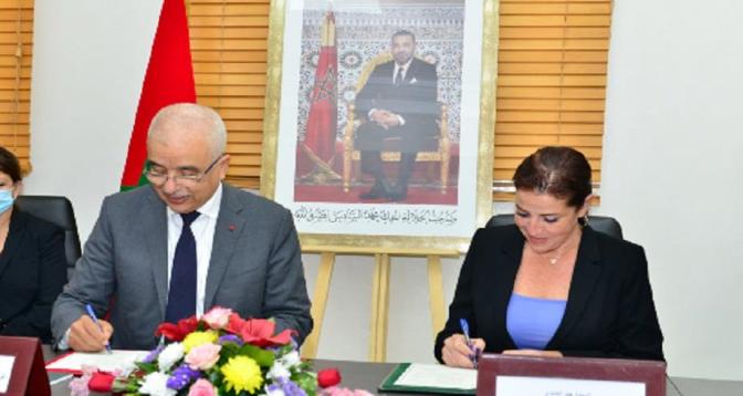 Signature d'une convention-cadre de partenariat entre l'INDH et l'Association JOOD