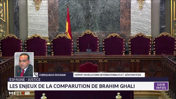 Espagne-justice: les enjeux de la comparution de Brahim Ghali