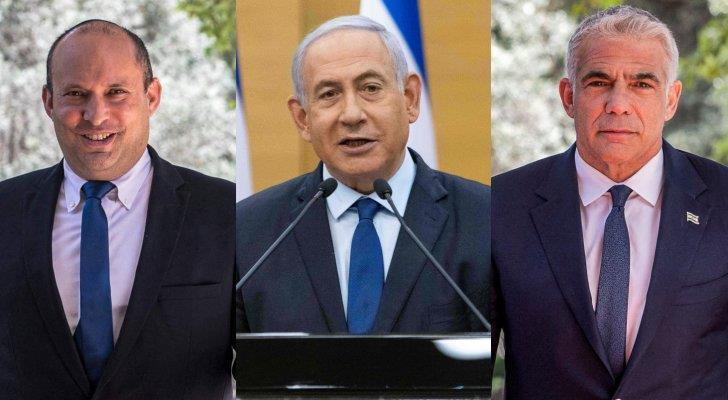 مهلة الاتفاق على تشكيل حكومة بين خصوم نتانياهو تدنو من نهايتها