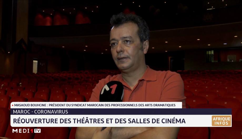 Réouverture des théâtres et des salles de cinéma