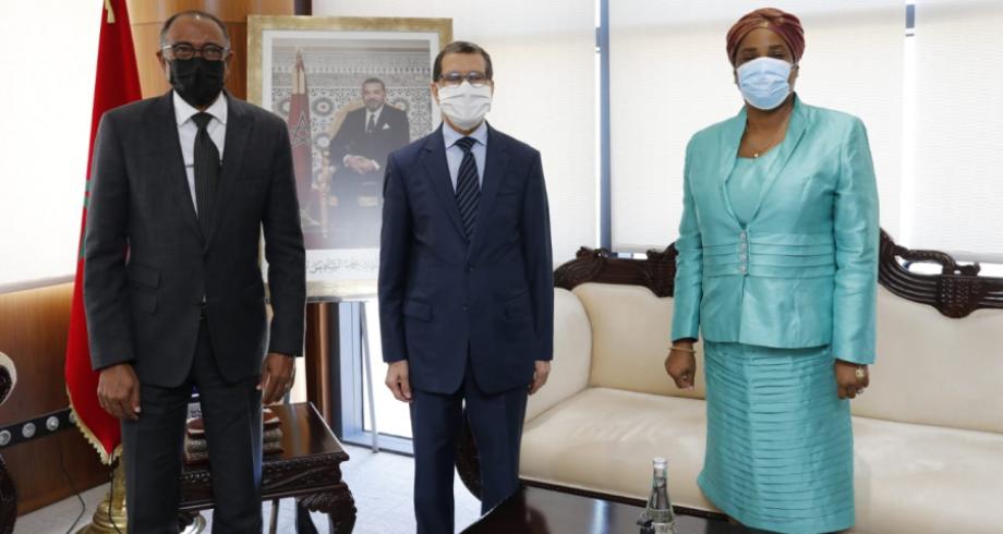 رئيس الحكومة يستقبل المبعوث الخاص للاتحاد الإفريقي للوكالة الإفريقية للأدوية