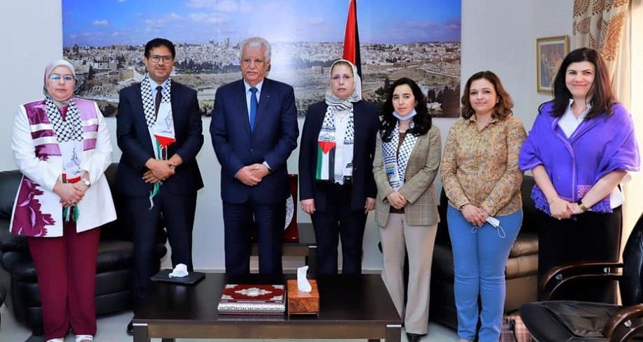 Le groupe d'amitié Maroc-Palestine réaffirme sa solidarité avec le peuple palestinien