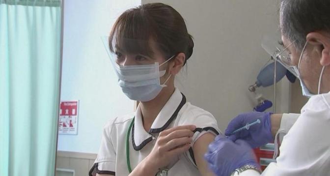 بدء تطعيم الرياضيين اليابانيين المشاركين في أولمبياد طوكيو ضد كورونا