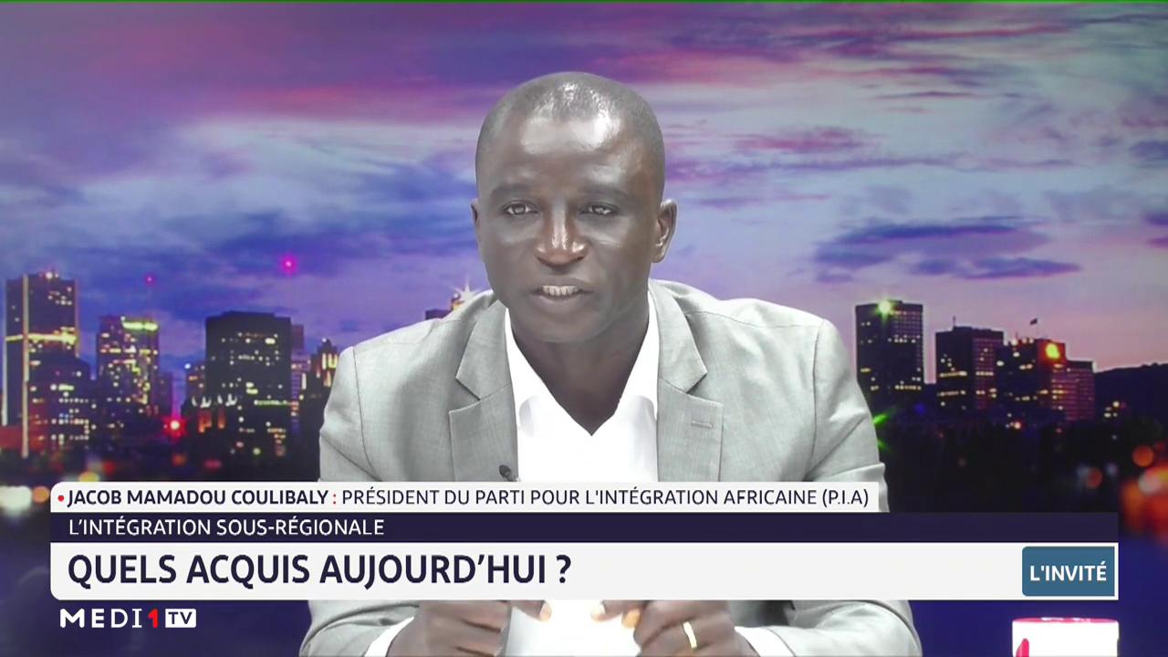 L'intégration sous-régionale: Quels acquis? Explications de Jacob Mamadou Coulibaly