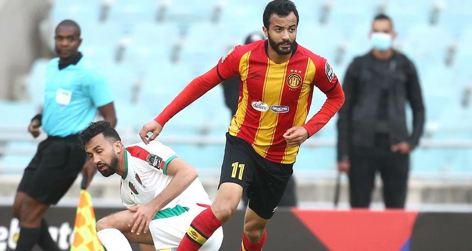إيقاف لاعب الترجي التونسي طه الخنيسي لمدة سنة بسبب المنشطات