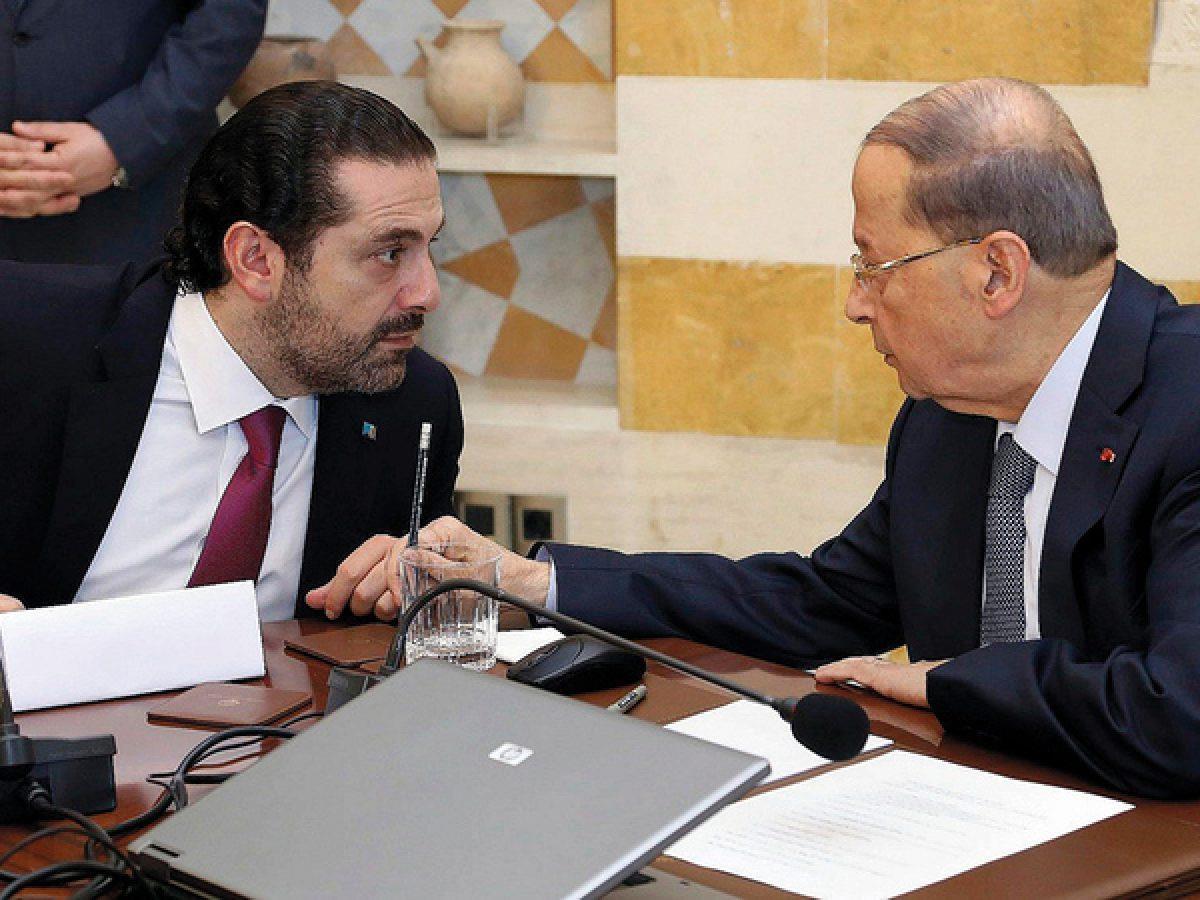 تأزم سياسي لبناني يتواصل على إيقاع تراشق بالاتهامات بين عون والحريري
