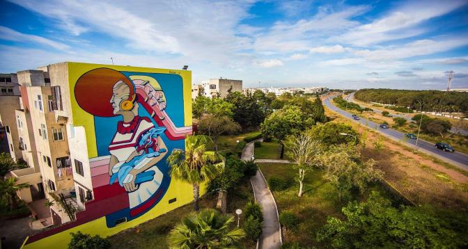 """الرباط تحتضن معرض """"ستريت آرت إينسايد"""" لفن الشارع إلى غاية 15 يوليوز"""