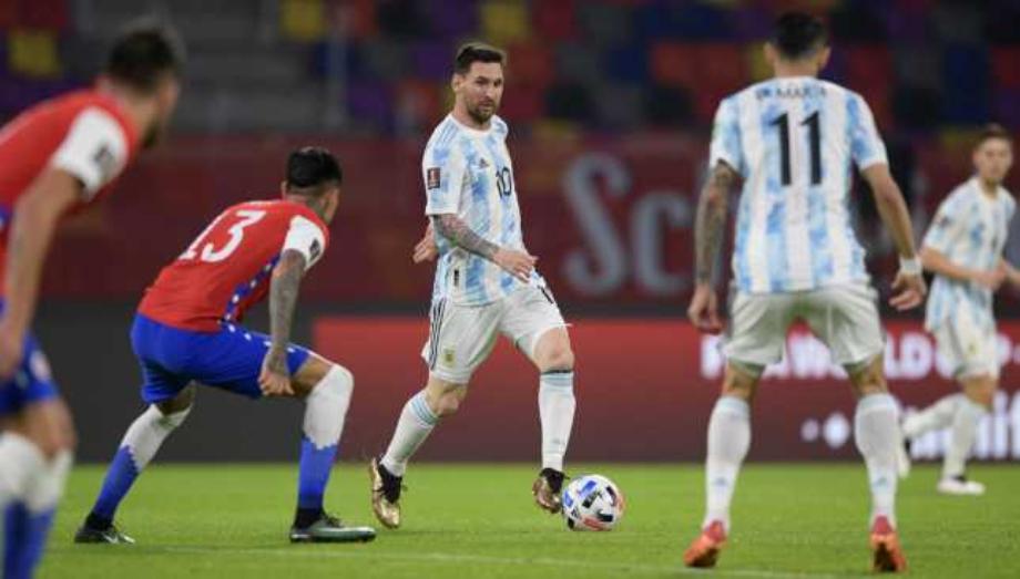 تصفيات مونديال 2022: الأرجنتين تتعادل مع الشيلي