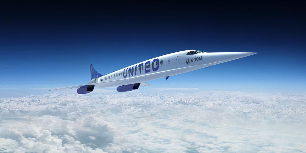 """""""يونايتد إيرلاينز"""" توقع عقدا لشراء 15 طائرة ركاب أسرع من الصوت"""