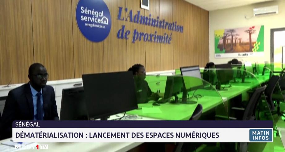 Dématérialisation au Sénégal: lancement des espaces numériques