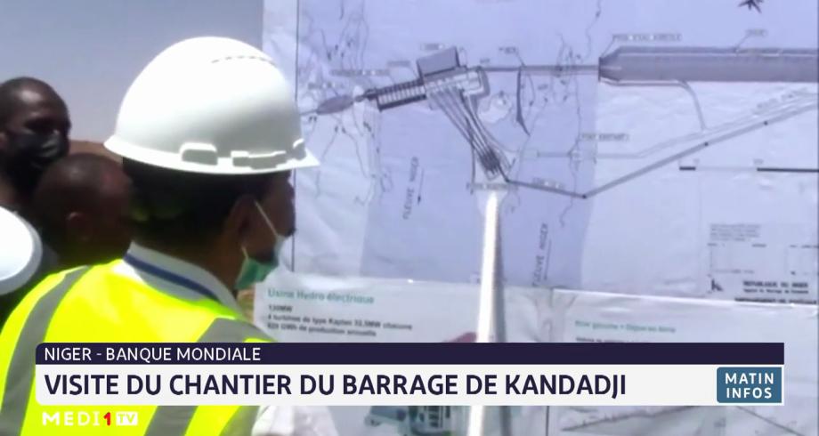 Banque mondiale: visite du chantier du barrage de Kandadji au Niger