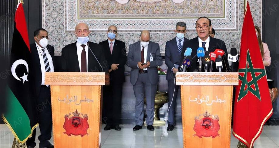 Aguila Salah salue le rôle du Maroc sous la conduite du Roi pour trouver une solution à la crise libyenne