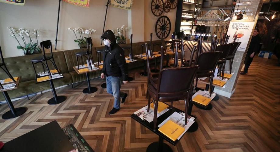 مطاعم ومقاهي بلجيكا تعاود الأربعاء استقبال الزبائن في الداخل