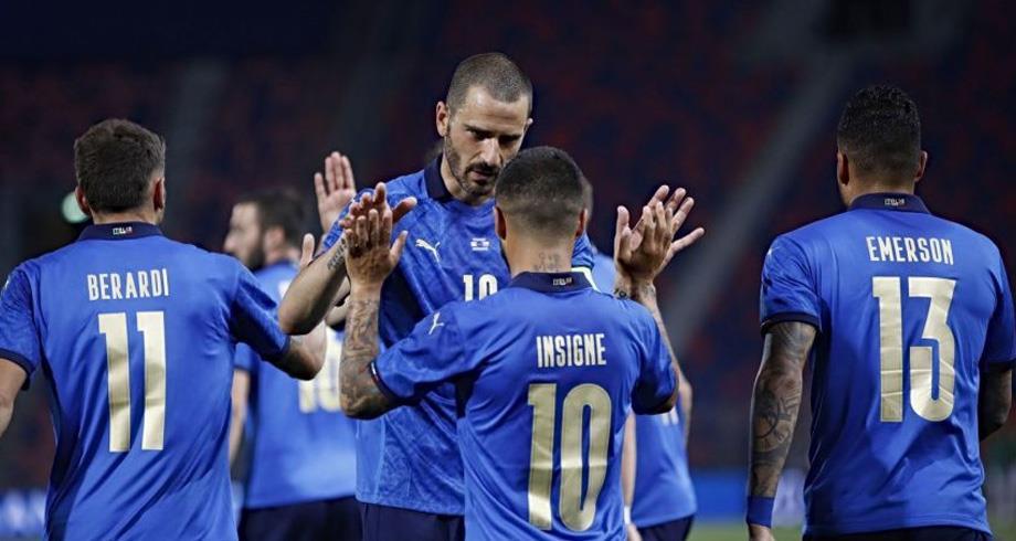 إيطاليا تختتم تحضيراتها لنهائيات كأس أوروبا بأفضل طريقة