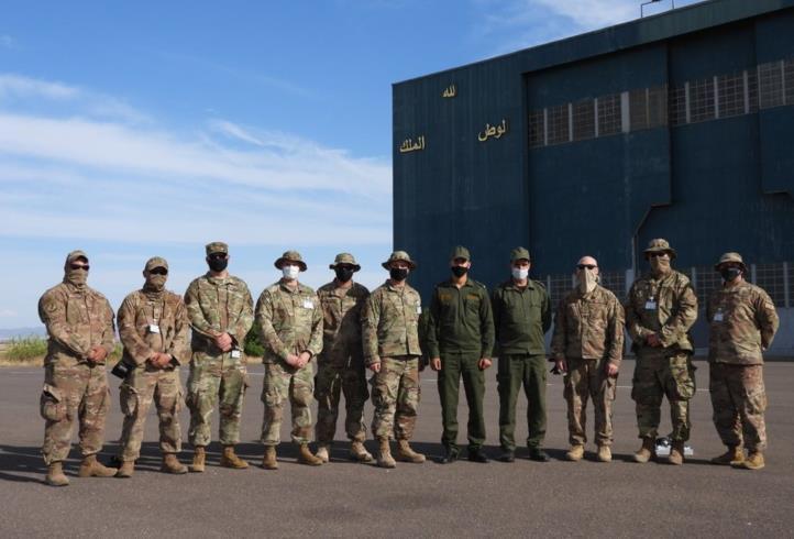 """L'exercice combiné maroco-américain """"African Lion 2021"""", du 07 au 18 juin (État-major Général des FAR)"""