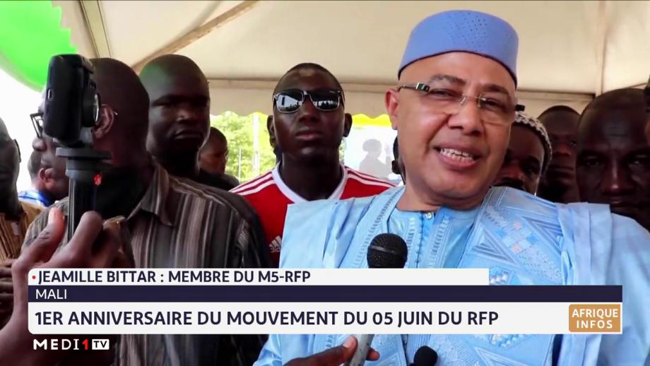 Mali: 1er Anniversaire du mouvement du 05 juin du RFP