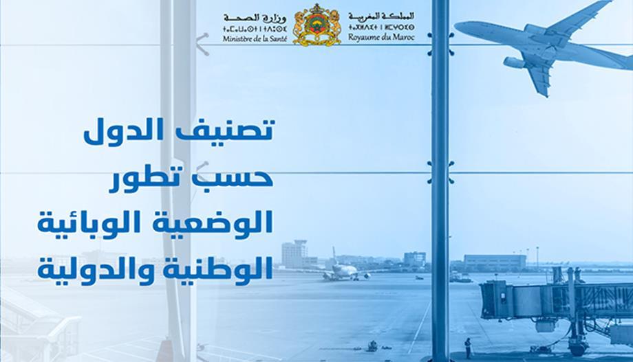 استئناف الرحلات الجوية من وإلى المغرب .. تصنيف الدول إلى قائمتين يتم تحيينهما بانتظام