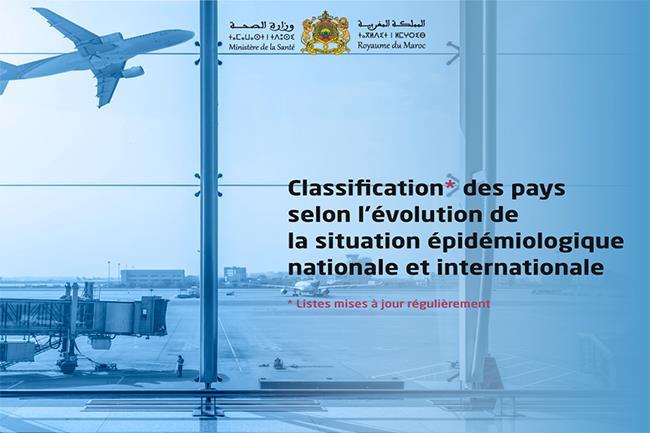 Reprise des vols de et vers le Maroc: rappel des listes adoptées par les autorités