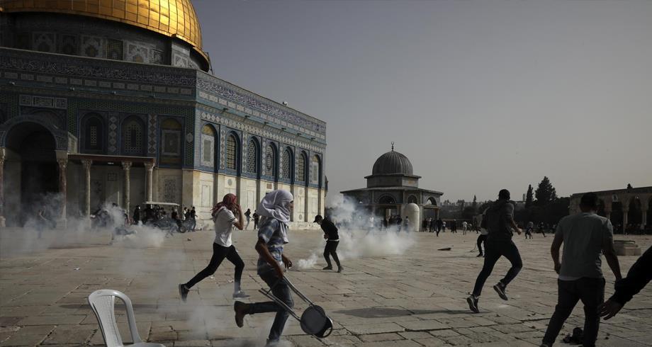 تقرير .. أضرار جسيمة لحقت بالمسجد الأقصى خلال المواجهات الأخيرة في القدس