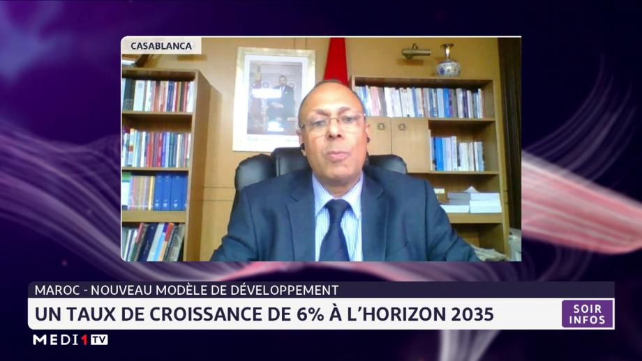 Maroc-développement: un taux de croissance de 6% à l'horizon 2035