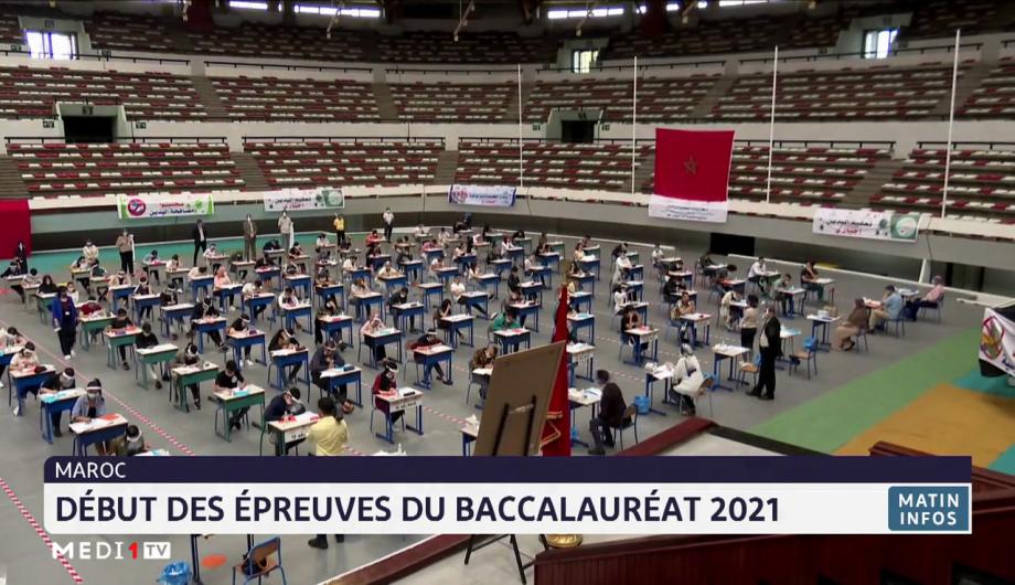 Maroc: début des épreuves du baccalauréat 2021