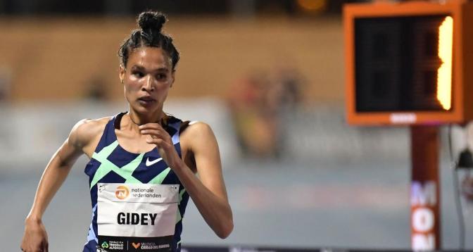 الإثيوبية غيداي تحطم الرقم القياسي العالمي لسباق 10 آلاف متر