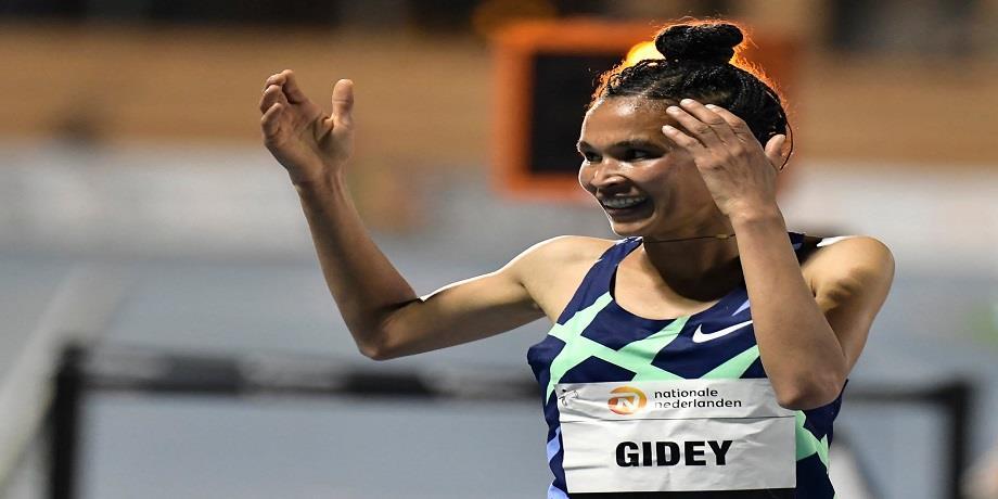 Athlétisme: L'Ethiopienne Gidey établit un nouveau record du monde sur 10.000 m