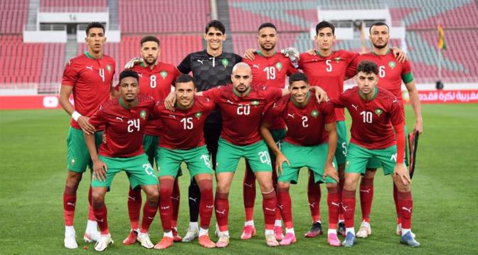 المنتخب المغربي يفوز وديا على نظيره الغاني