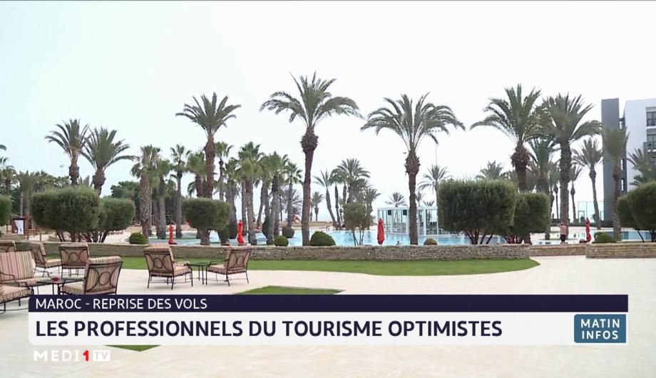 Maroc- reprise des vols: les professionnels du tourisme optimistes