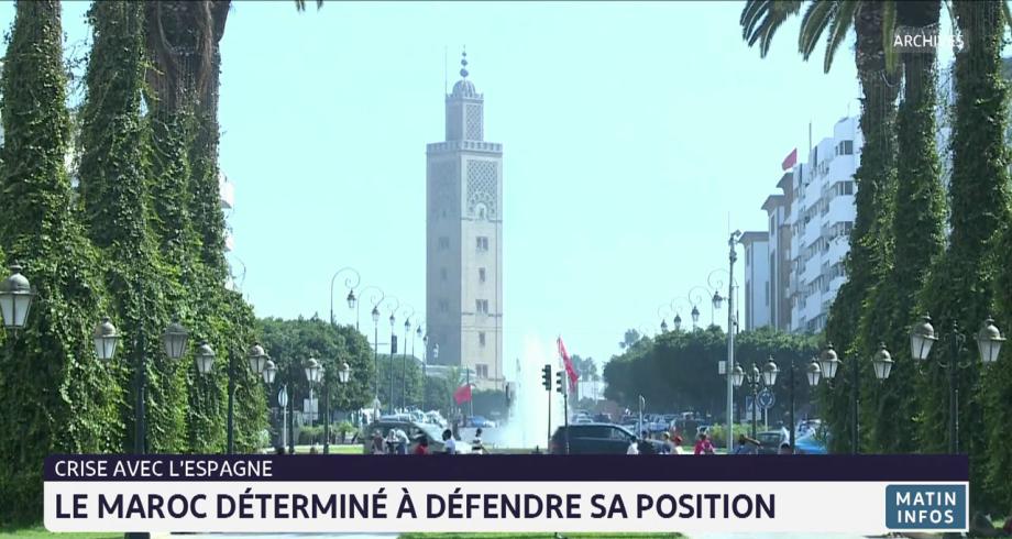 Crise avec l'Espagne: le Maroc déterminé à défendre sa position