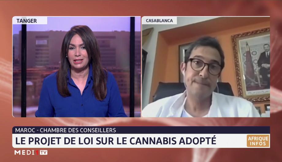 Maroc-Chambre des conseillers: le projet de loi sur le cannabis adopté. Analyse Rabie Redwane
