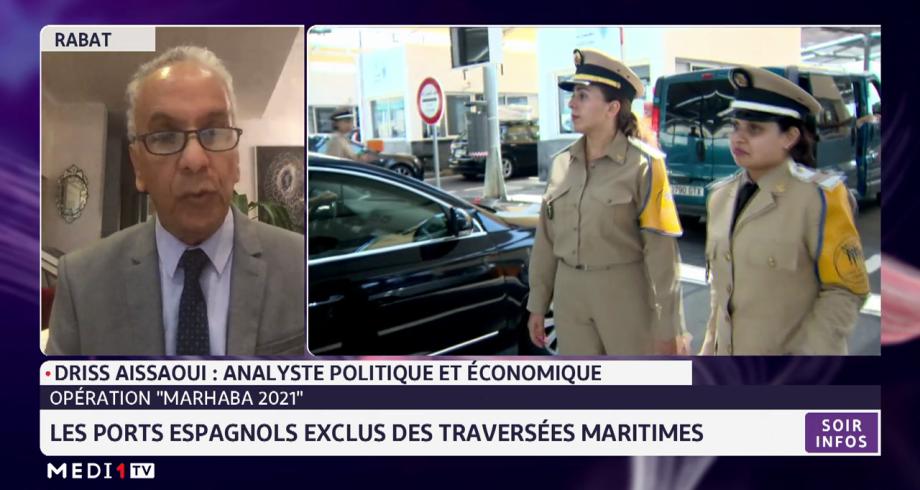 Marhaba 2021: les ports espagnols exclus des traversées maritimes. Analyse Driss Aissaoui