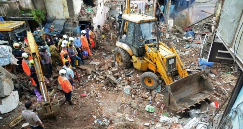 الهند .. 11 قتيلا على الأقل وسبعة جرحى إثر انهيار مبنى في بومباي