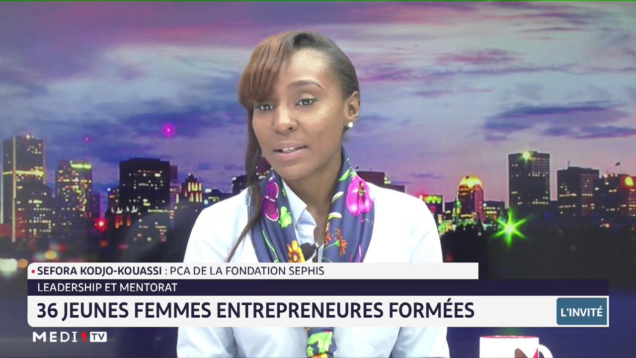 Leadership et mentorat: 36 jeunes femmes entrepreneures formées