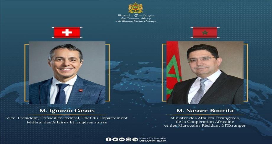 Nasser Bourita s'entretient avec son homologue suisse