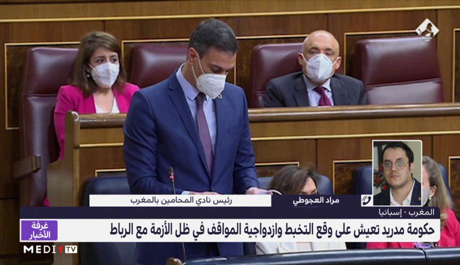 مراد العجوطي يعلق على ازدواجية مواقف إسبانيا في أزمتها مع المغرب